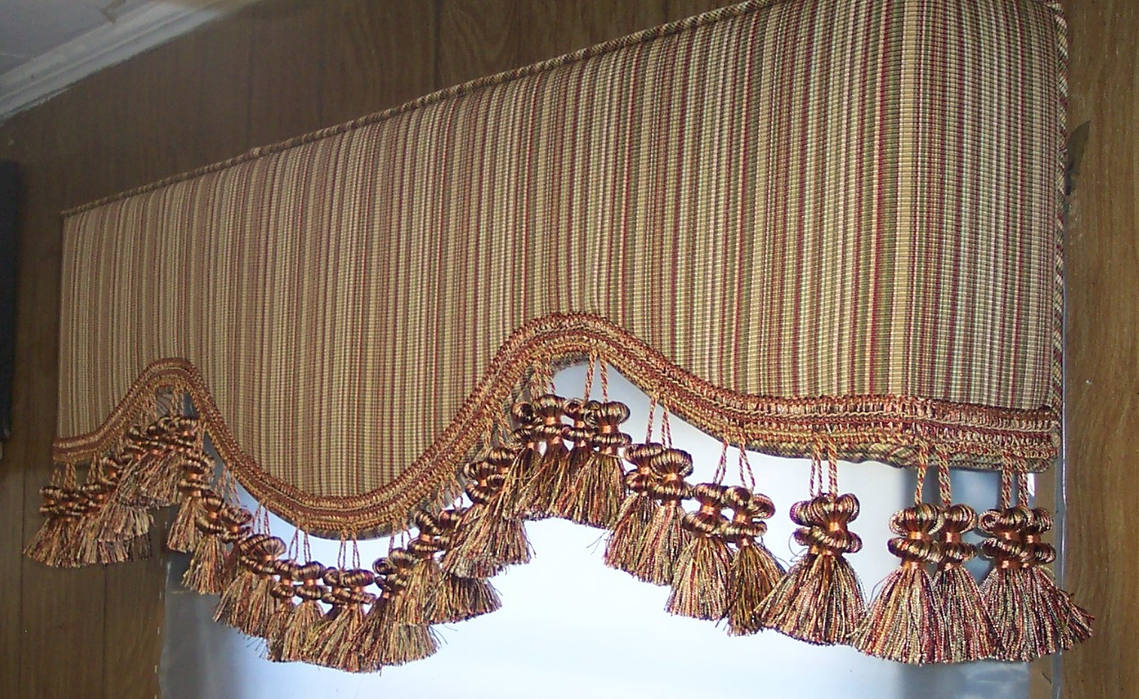 Indianapolis upholstered cornice boards