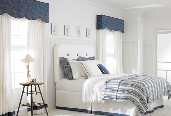 Upholstered cornice boards in Indianapolis