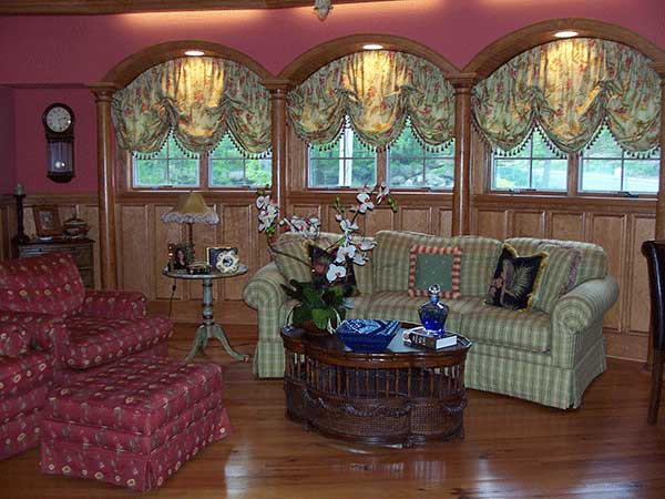 Indianapolis custom fabric shades