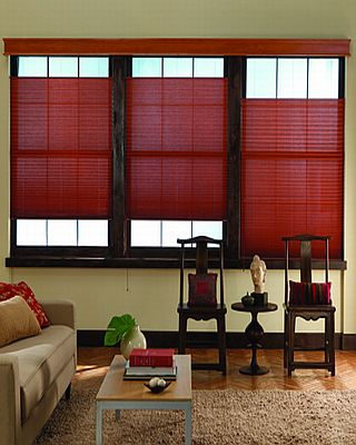 Indianapolis Pleated Shades